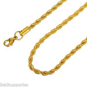 1-Damen-Herren-Halskette-Halsschmuck-Vergoldet-Edelstahl-Modeschmuck-M13314-L-P