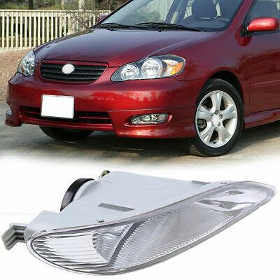 Car Left Driver Side Fog Light Housing for 2002-2004 Toyota Camry Pre-facelift