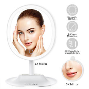 5x-Magnification-LED-Touch-Screen-Makeup-Mirror-Vanity-Cosmetic-Light-up-Mirror