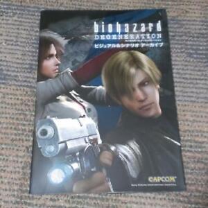 BIOHAZARD-Degeneration-Visual-Scenario-Archive-Resident-Evil-CG-Art-Book