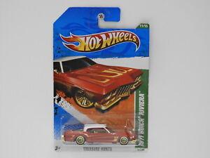 1 64 1971 Buick Riviera Hot Wheels 2011 Treasure Hunt Long Card Hot Wheels T97 Ebay