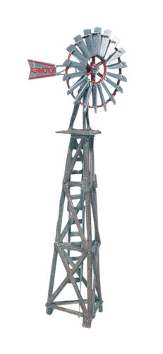 "Woodland Scenics D209 Ho cm Aermotor /"" Windmühle Zug Landschaft"