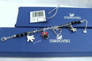 Details about Swarovski Mickey Mouse Bracelet, Crystal Authentic MIB -  1112909