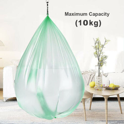 5 Rolls Biodegradable Compostable Clean Caddy Liner 7L 10L Office Waste Bags