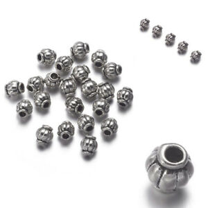 100pcs-Lot-Tibetan-Silver-Loose-Charms-Spacer-Beads-Loose-Jewelry-Findings-4MM