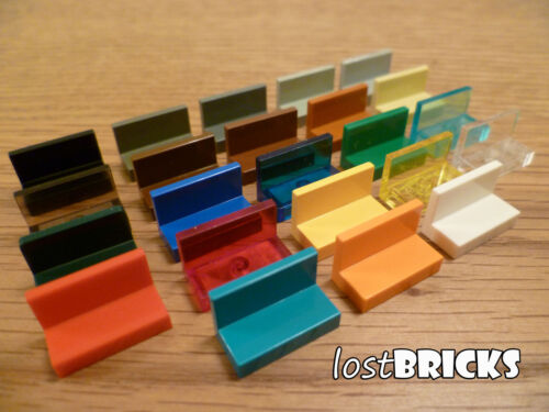 Part 4865 SELECT COLOUR 10 x LEGO Panels 1x2x1 FREE POSTAGE