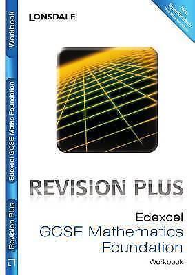 1 of 1 - Edexcel Maths Foundation Tier: Revision Workbook (inc. Answers) (Lonsdale GCSE R