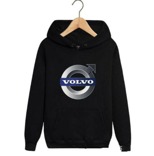2019 NEW VOLVO Hoodie Men Jacket Full Sweatshirts warm Coat