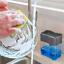 Dispensador con bomba de jabón con soporte de esponja dispensador de líquido US