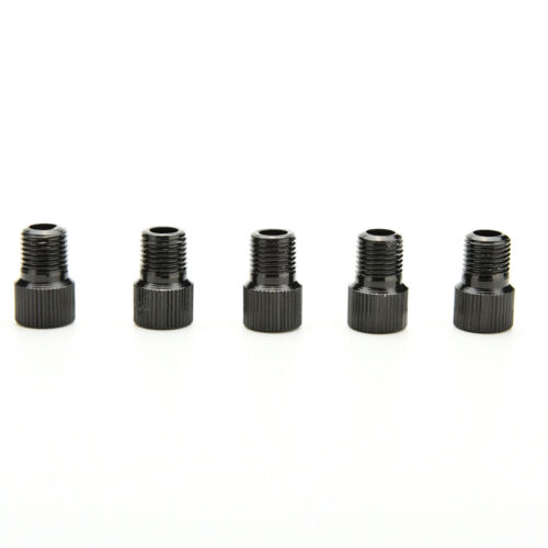 Spiffy 5X Bicycle Bike Tube Cap Pump Connector Adapter Valve FEH