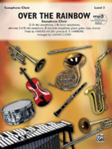Over The Rainbow Sax Choir Saxophone ensemble 31495 ALFRED