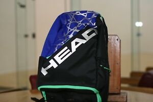 Image Is Loading Head Racquetball Bag Pro Backpackack 2018 Black Green