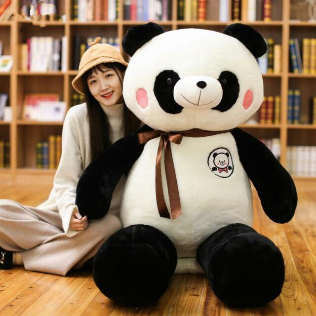 Hot Giant Huge Big 120cm Panda Bear Stuffed Plush Animal Toy