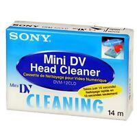 1 Sony Mini Dv Camcorder Head Cleaner Tape For Canon Optura 10 100mc 20 Elura Hv