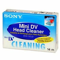 1 Sony Mini Dv Camcorder Head Cleaning Cassette Canon Xl2 Xl1 Xh A1 A1s Gl2 Gl1