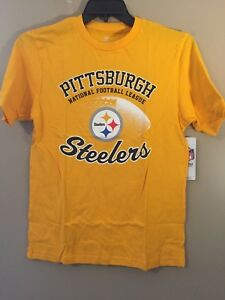 845ea1c83 Image is loading PITTSBURGH-STEELERS-NFL-YOUTH-XL-14-16-Logo-