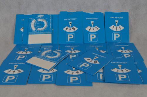 200 Stück Parkscheiben mit Benzinrechner aus Pappe für KFZ Parkscheibe Auto Park