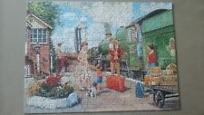 THE CLIPPIE 500PC ADULT JIGSAW PUZZLE 14292 RAVENSBURGER HAPPY DAYS AT WORK