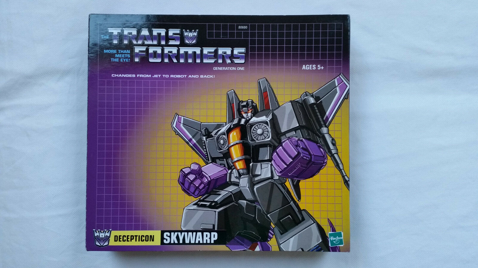 Transformers re-issue Skywarp Y En Caja Sellada