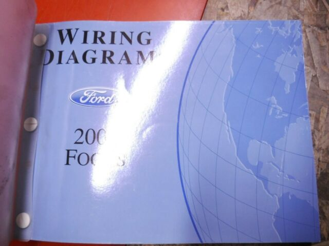 2006 Ford Focus Original Factory Wiring Diagrams Manual