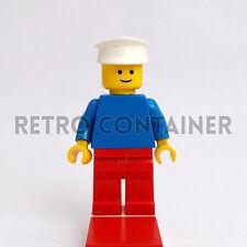 LEGO Minifigures - Sailor - pln151 - Plain Torso Town Omino Minifig Set 1066