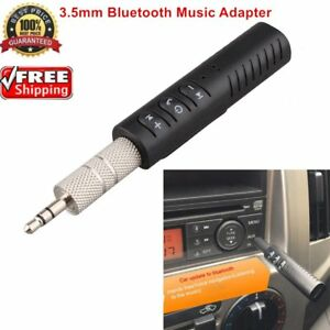 Wireless-Bluetooth-Phone-To-3-5mm-AUX-Car-Stereo-Audio-Music-Receiver-N