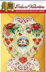 Victorian Heart Deluxe Valentine 9781595839527 Laughing Elephant 2015 Cards