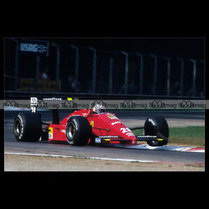 #pha.014122 Photo FERRARI F1-88C GERHARD BERGER GP F1 1988 MONZA Car Auto E4okHiQQ-09093959-872040978