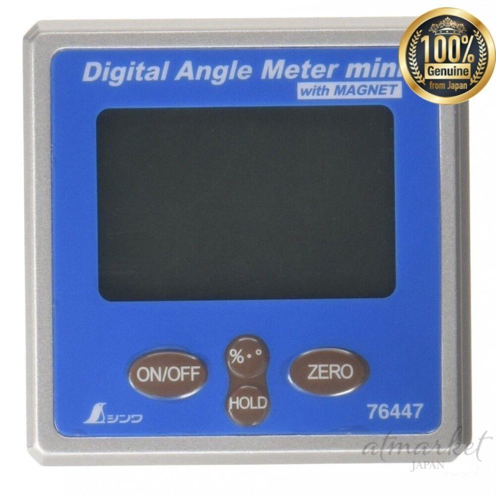 Neu Shinwa Mess- Digital- Winkel mit Mini Magnet 76447 From Japan