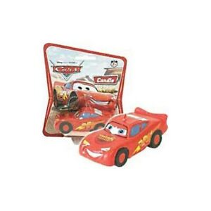 Cars-Lightening-McQueen-Moulded-3D-Candle-Disney-Pixar-Party-Cake-Supplies