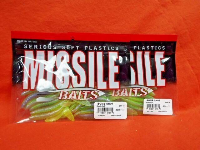 Missile Baits Bomb Shot Mbbs4-bmsl Bombshell 45ct for sale online