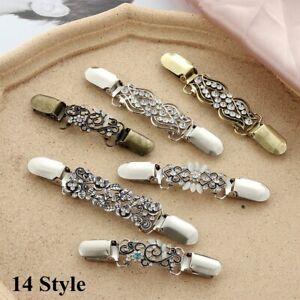 clip pullover bluse pin schal geschenk cardigan brosche ente clip aus