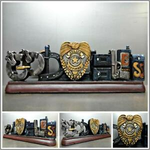 Lovely Image Is Loading POLICE OFFICER COP God Bless PLAQUE HOME OFFICE