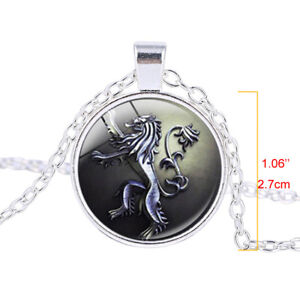 Game-of-Thrones-House-Lannister-Song-of-Ice-and-Fire-Lion-Pendant-Necklace