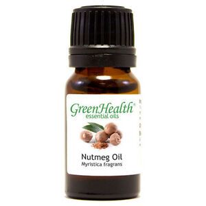 15-ml-Nutmeg-Essential-Oil-100-Pure-amp-Natural-GreenHealth