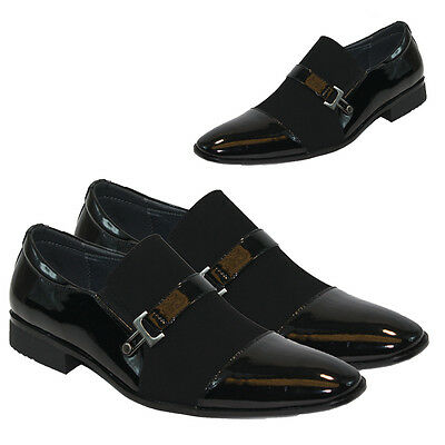 MENS SMART WEDDING SHOES ITALIAN FORMAL OFFICE WORK CASUAL PARTY DRESS BOYS SIZE