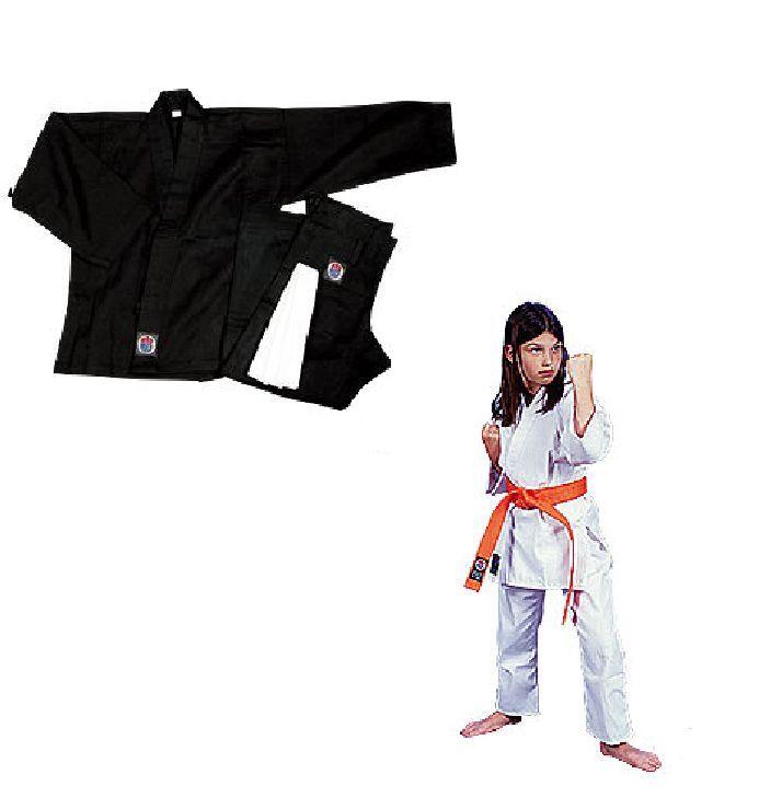 Proforce Lightweight Karate Uniform Traditional Drawstring 100% Cotton w Belt