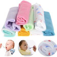 8Pcs  Para Bebé Toalla De Baño Del Bebé La Alimentación De Wipe Baberos
