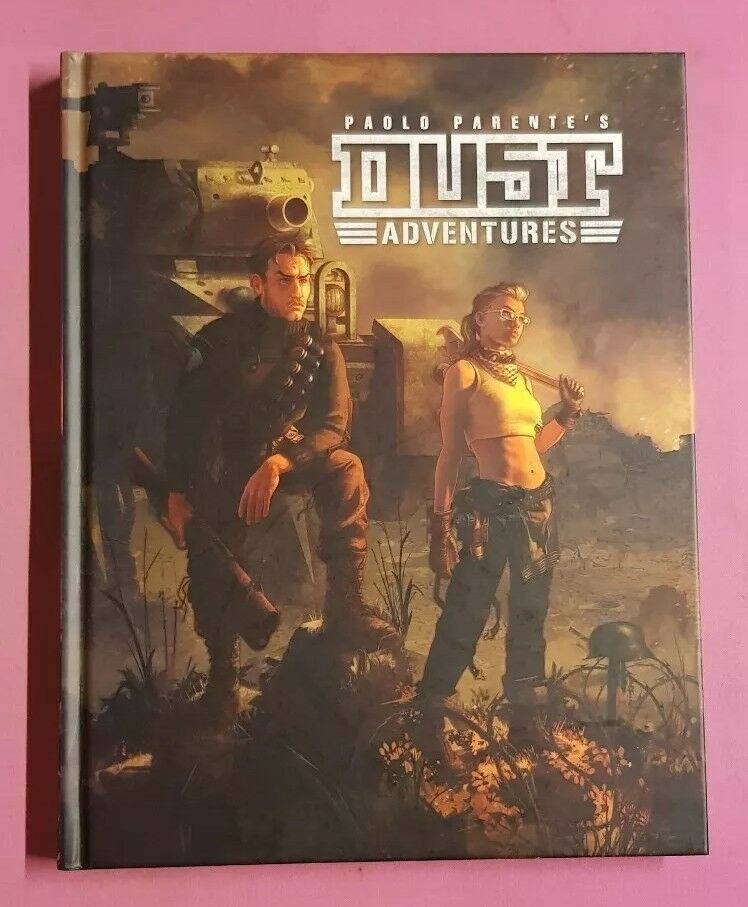PAOLO PARENTES DUST ADVENTURES - CORE BOOK RPG ROLEPLAYING ROLEPLAY WEIRD WAR 2