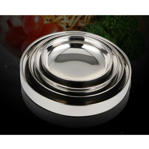 Stainless Appetizer Condiment Server Snack Side Sauce Serving Dishes Bowl M