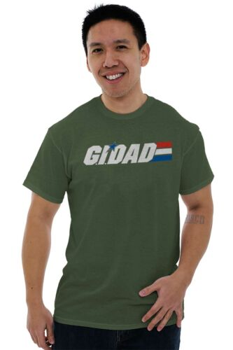 GI Dad Army Military Marines Navy Soldier Veteran Father T Shirt Tee For Men