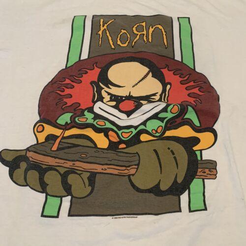 VERY RARE !! '96 KORN T-shirt Pantera Nine Inch Na