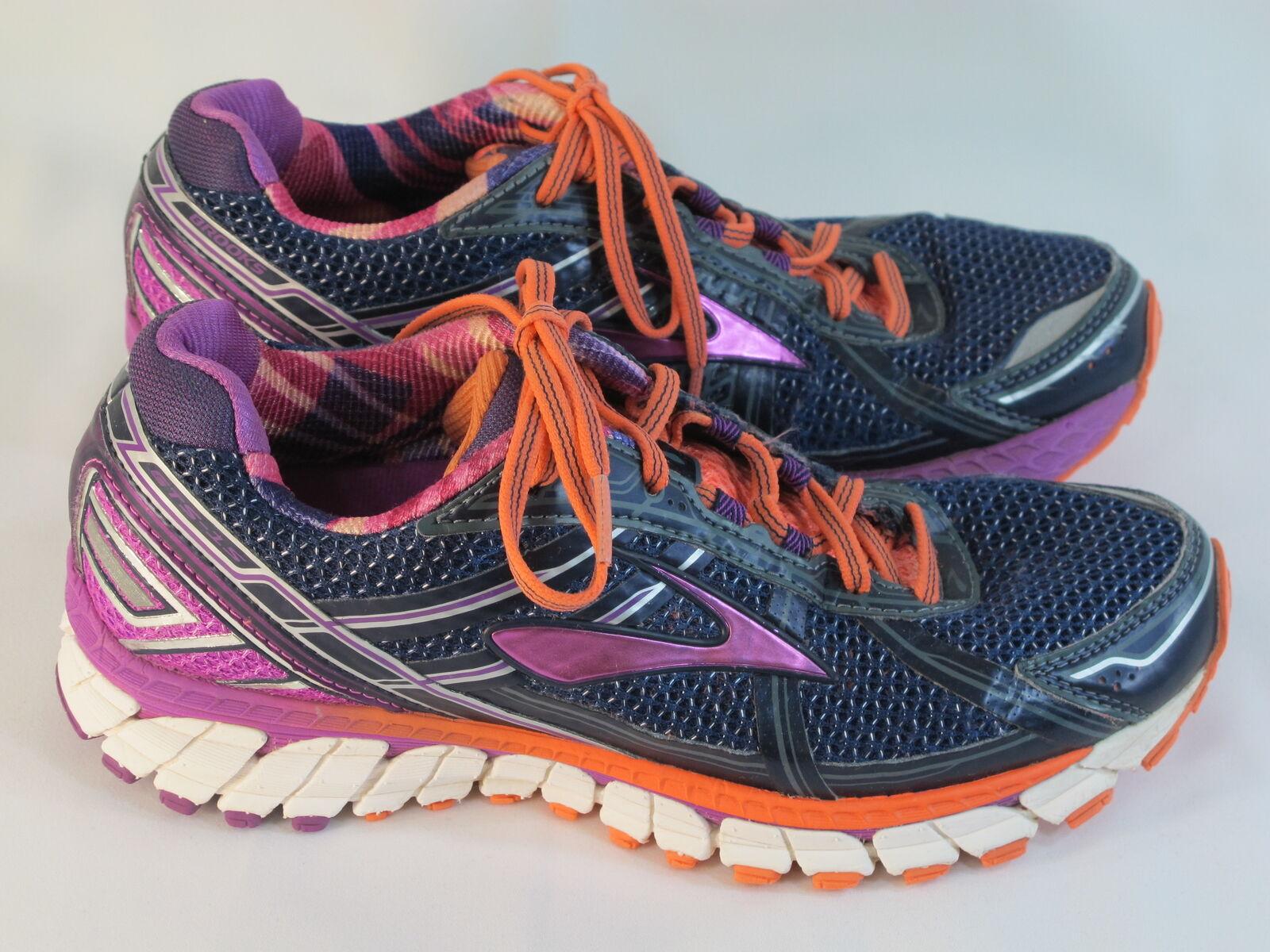 Brooks Adrenaline GTS 15 Running Shoes Women's Size 9 B US Excellent Plus