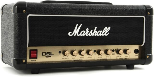 Marshall DSL15H Valve/Tube Guitar Amp Head