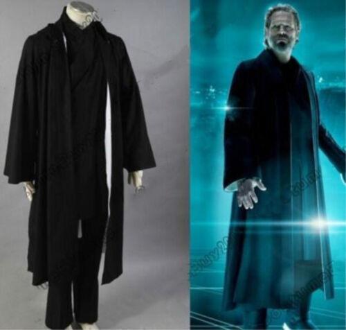 Legacy Kevin Flynn Cosplay Costume Custom Made Full Set#21 new Tron