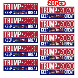 20Pcs-Donald-Trump-Keep-America-Great-Car-Bumper-Stickers-President-2020-jc
