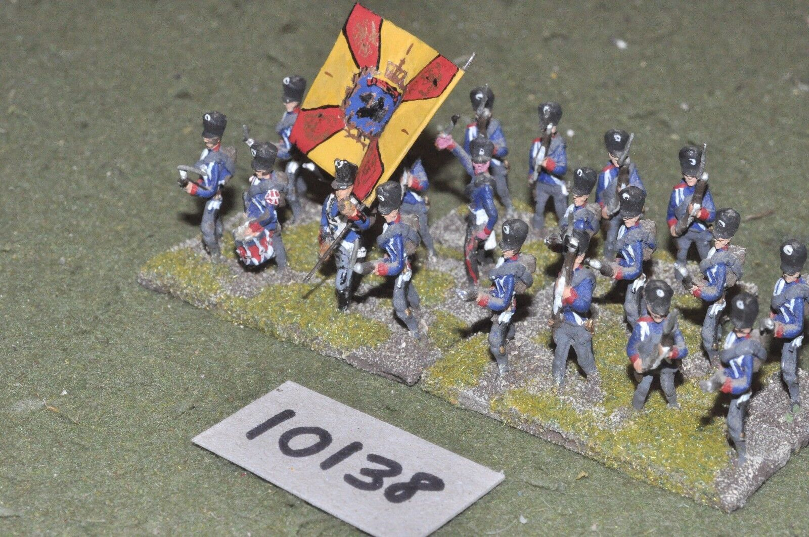 25mm napoleonic   prussian - musketeers 20 infantry - inf (10138)