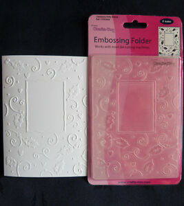 Crafts-Too-CTFD3034-C6-Embossing-Folder-Christmas-Holly-Frame