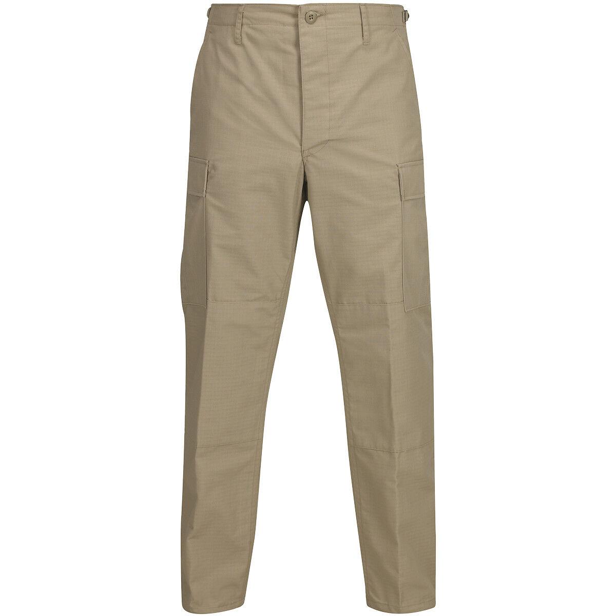 Propper Bdu Hose Button Fly Fly Fly Herren Kampf Ripstop Patrol Uniform Hose Khaki | New Listing  | Schön  | eine große Vielfalt  | Leicht zu reinigende Oberfläche  | Verwendet in der Haltbarkeit  516eed