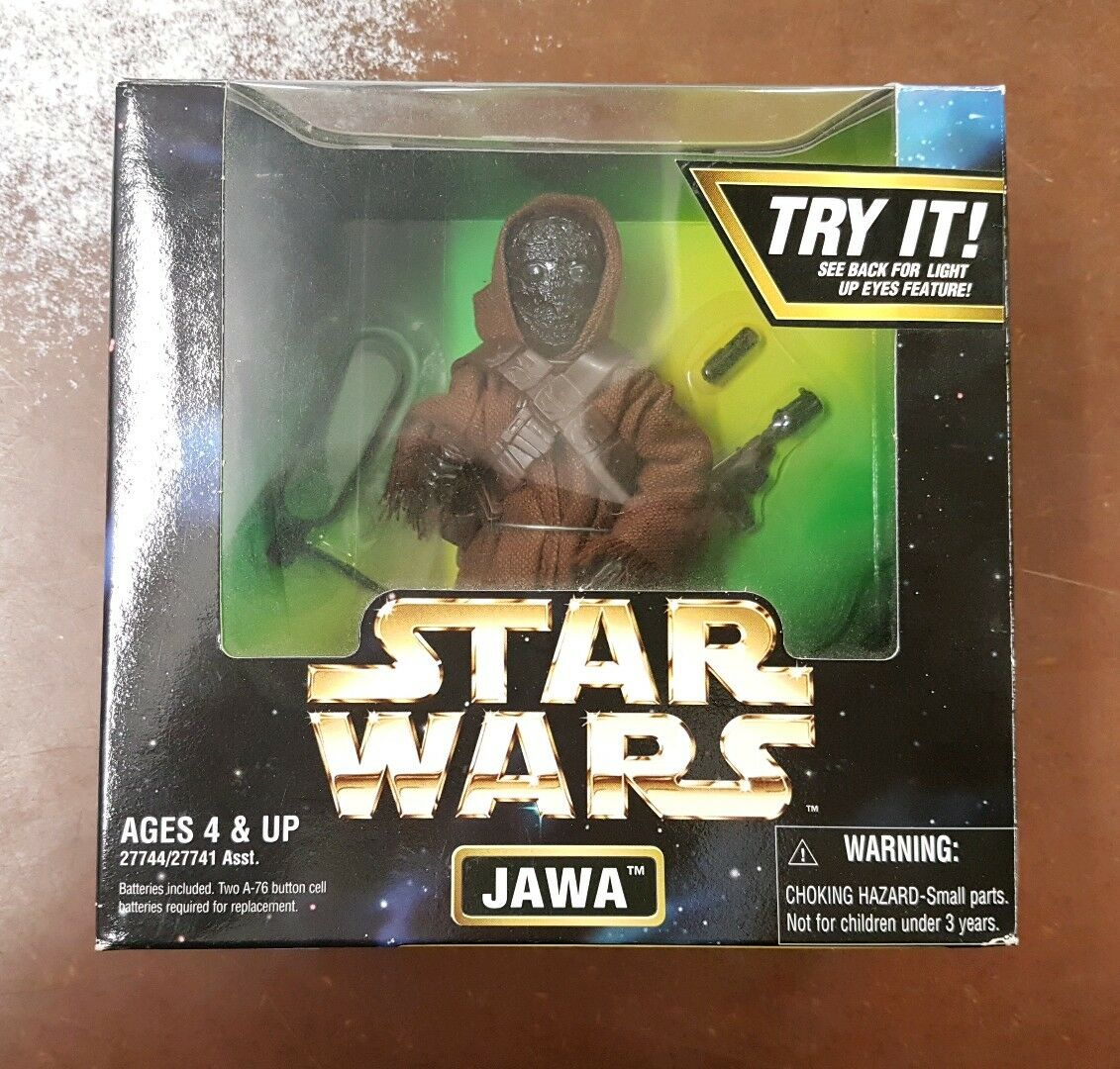 1997  Star Wars 6 inch Jawa 1 6 scale 12 inch figure collection  POTF2